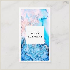 Best Business Cards For Watercolor Artists Artist Business Cards
