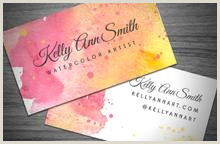 Best Business Cards For Watercolor Artists Watercolor Artist Business Card Template Wegraphics