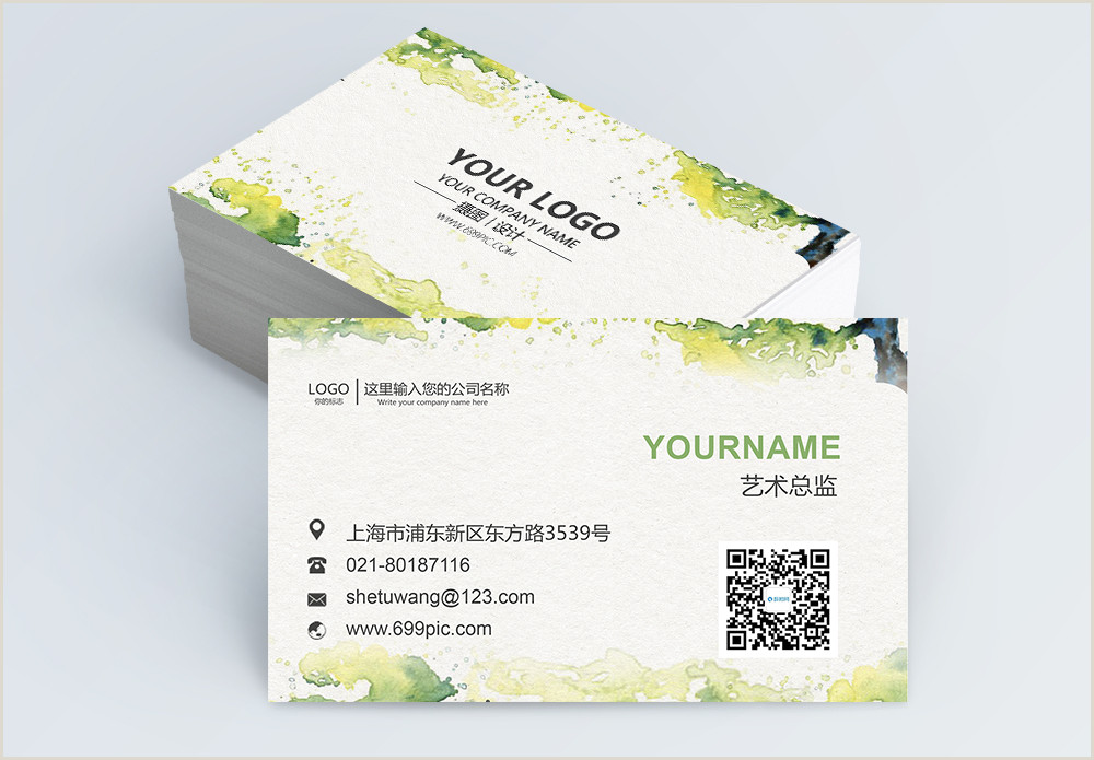 Best Business Cards For Watercolor Artists Watercolor Business Card Design Hd Photos Free
