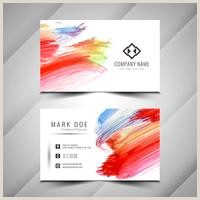 Best Business Cards For Watercolor Artists Watercolor Business Card Free Vector Art 888 Free Downloads