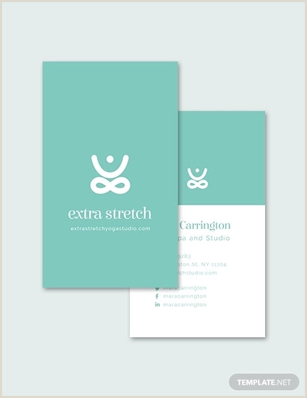 Best Business Cards For Yoga Studio 12 Yoga Business Card Templates Psd Word Publisher