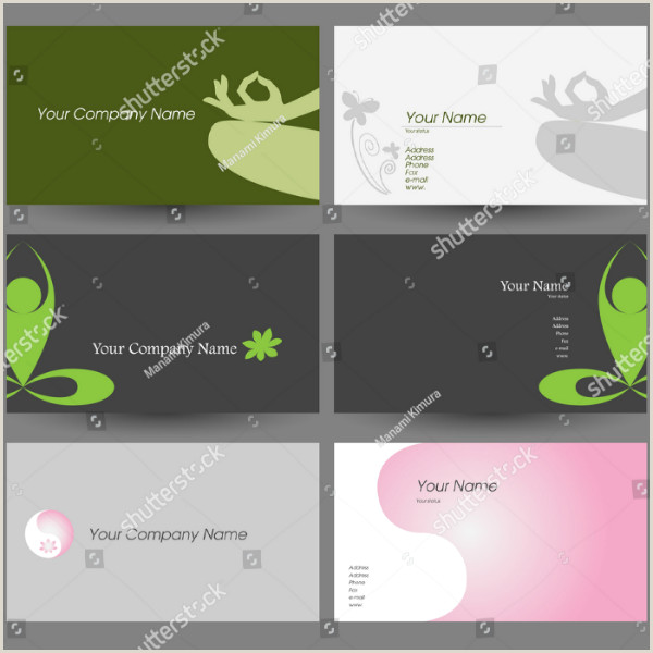 Best Business Cards For Yoga Studio 19 Yoga Instructor Business Card Templates Ai Psd Pages