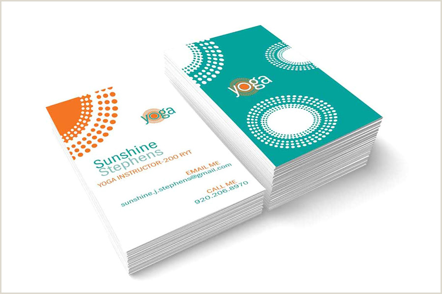 Best Business Cards For Yoga Studio 25 Inspiring Yoga Business Cards From Around The Web