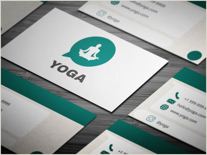 Best Business Cards For Yoga Studio Free Yoga Studio Business Card Template