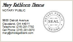 Best Business Cards In Northwest Indiana Indiana Notary Public Business Cards