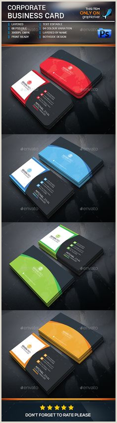 Best Business Cards In San Diego 30 Best Business Card Templates Psd Collection Ideas