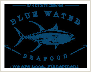 Best Business Cards In San Diego Blue Water Seafood San Diego