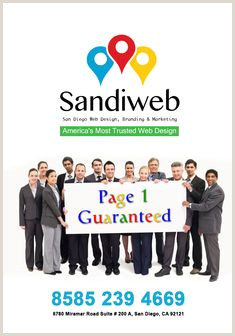 Best Business Cards In San Diego, Ca Sandiweb.com 16 Best Seo Services Images