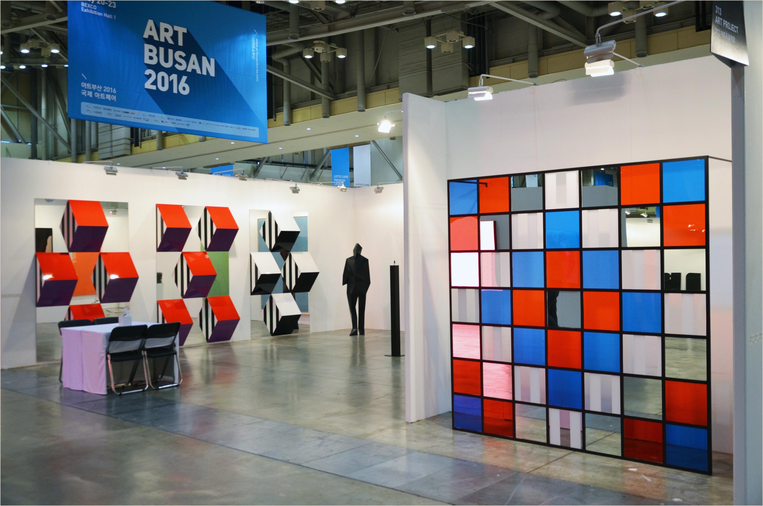 Best Business Cards Korean Top 5 Booths At Art Busan 2016