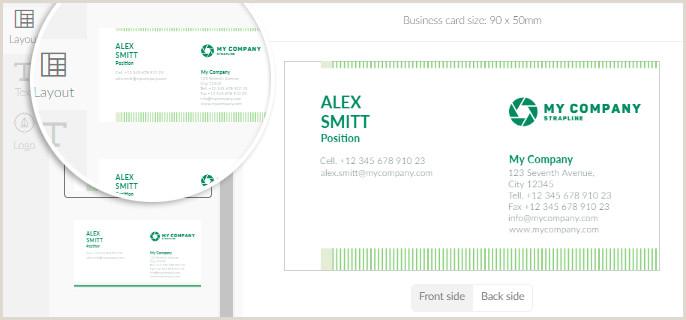 Best Business Cards Maker Logaster