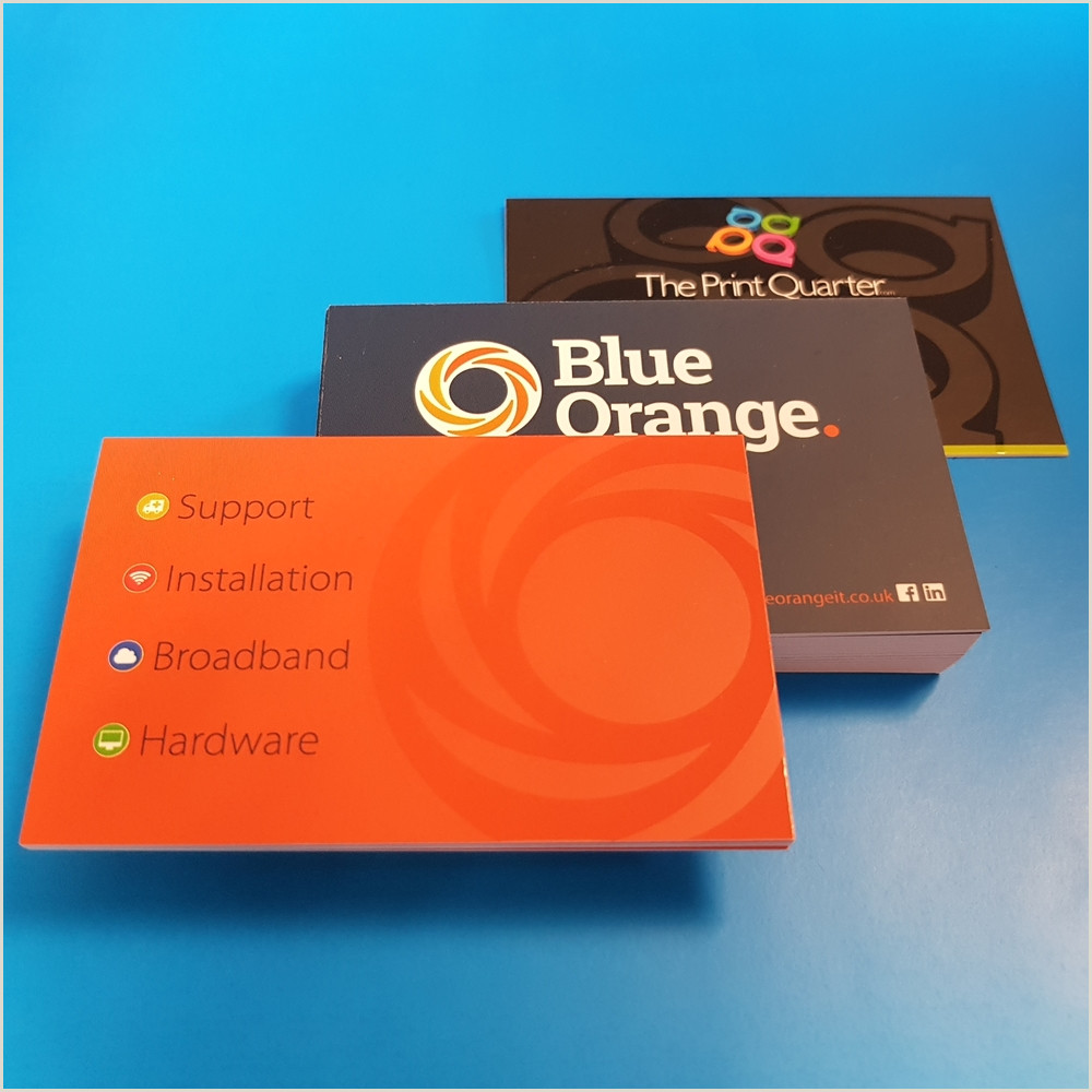 Best Business Cards Matte Finish 450g Business Cards With Various Finishes