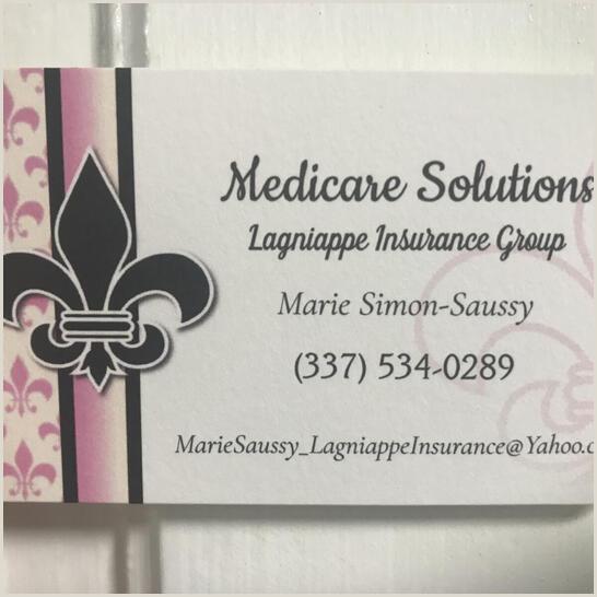 Best Business Cards Medicare Lagniappe Insurance Group Medicare Insurance Lafayette La