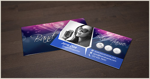 Best Business Cards Musician 20 Fantastic Business Cards For Musicians