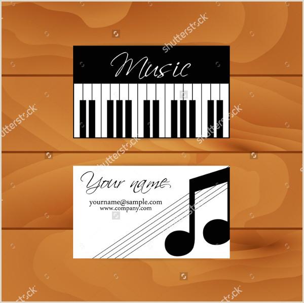 Best Business Cards Musician 20 Musician Business Card Free Psd Eps Illustrator Eps