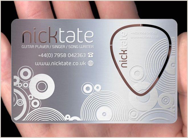 Best Business Cards Musician 5 Inspiring Business Card Designs