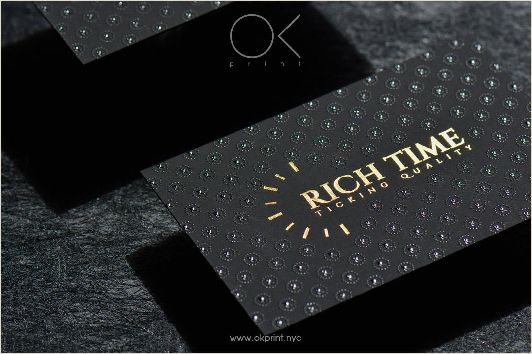 Best Business Cards Nyc Luxury Business Cards