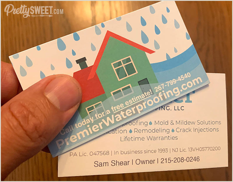 Best Business Cards On Vistaprint Vistaprint Standard Business Card Reviews Check Out My Cards