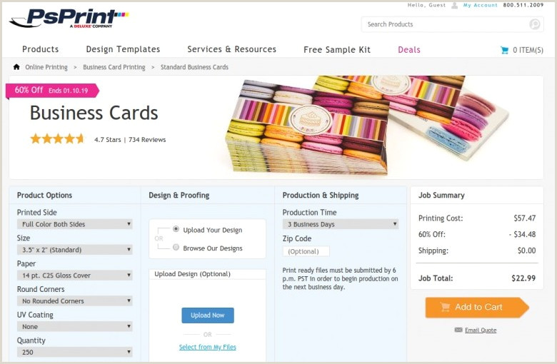 Best Business Cards Online 11 Best Places To Order Business Cards Line In 2020