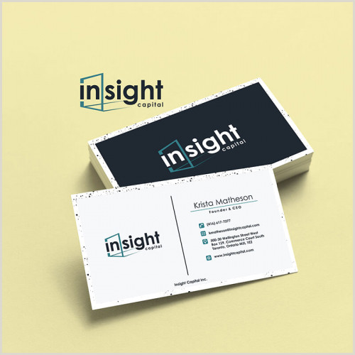 Best Business Cards Online With My Logo Logo & Business Card