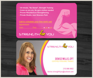 Best Business Cards Personal Trainer Personal Trainer Business Cards