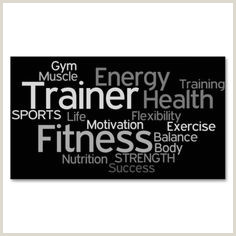 Best Business Cards Personal Trainer Personal Training Business Cards