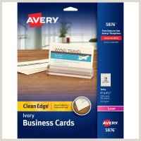 Best Business Cards Printing Avery Dennison Business Cards