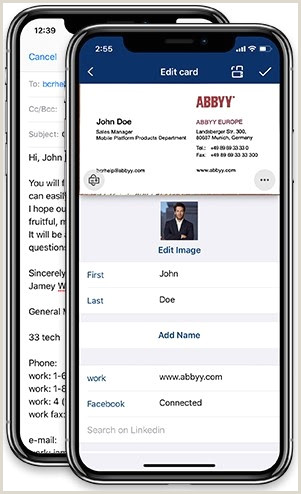 Best Business Cards Reader Apps IPhone 5 Best Ios Apps For Business Card Scanning