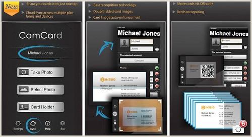 Best Business Cards Reader Apps IPhone Best Business Card Reader App For IPhone Appdazzle