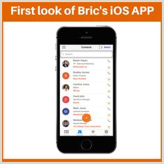 Best Business Cards Reader Apps IPhone Bric™ Bricapp On Pinterest