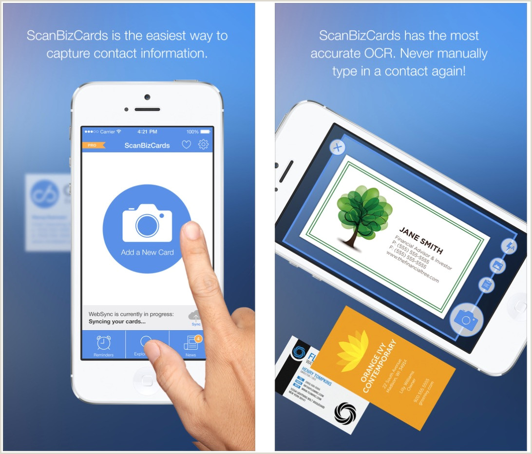 Best Business Cards Reader Apps IPhone The Best Business Card Scanner Apps For IPhone