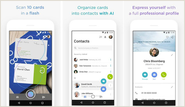 Best Business Cards Reader Apps IPhone Top 7 Best Business Card Scanner Apps Of 2020