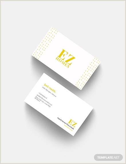 Best Business Cards Real Estate 18 Best Real Estate Business Card Examples & Templates