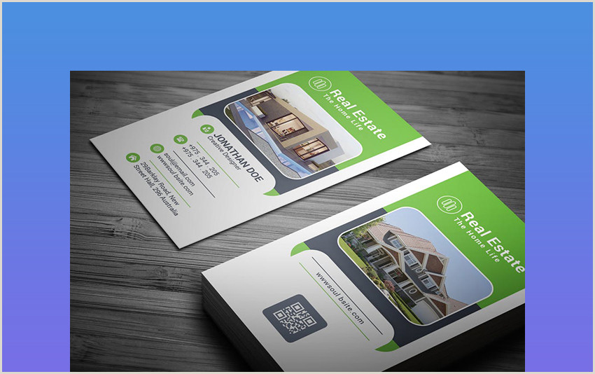 Best Business Cards Real Estate 25 Best Real Estate Business Card Designs Unique Ideas For