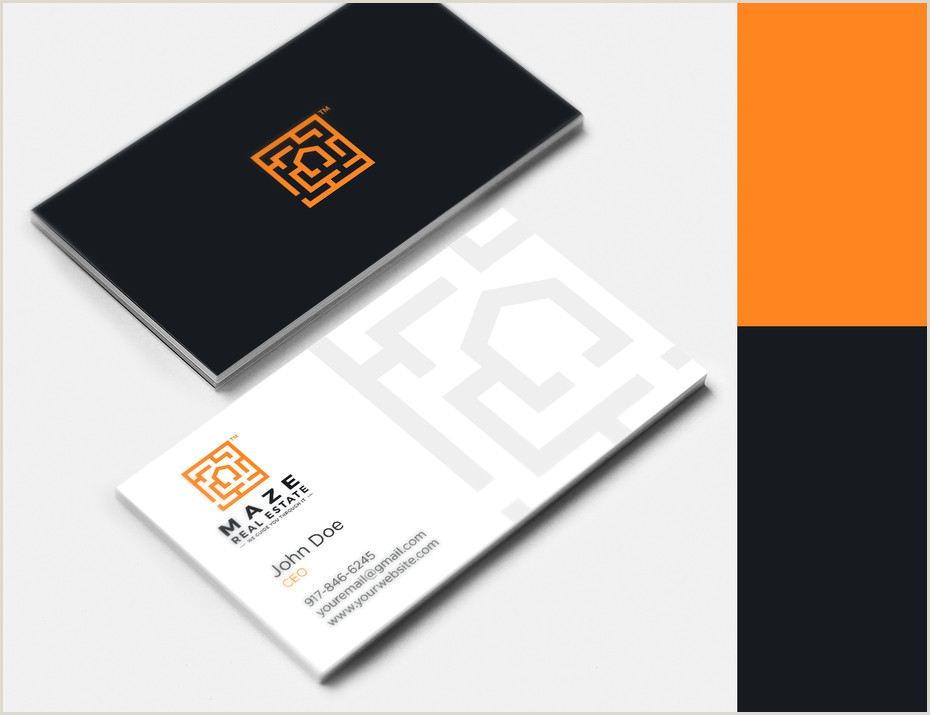 Best Business Cards Real Estate 42 Real Estate Business Cards To Help You Close The Deal