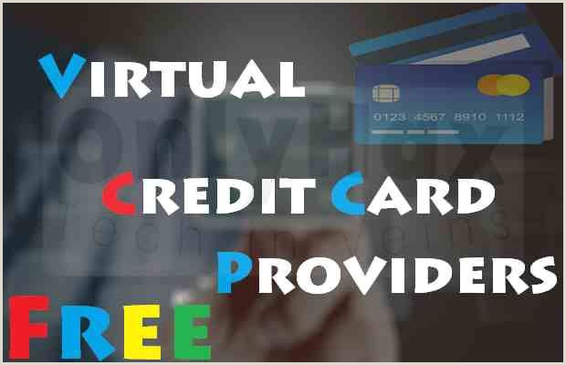 Best Business Cards Redit Best Free Virtual Credit Card Vcc Providers Of 2018