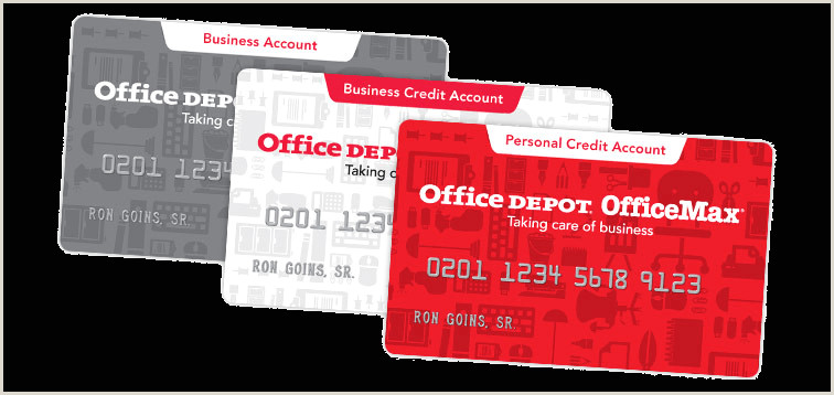 Best Business Cards Redit Fice Depot Business Credit Account