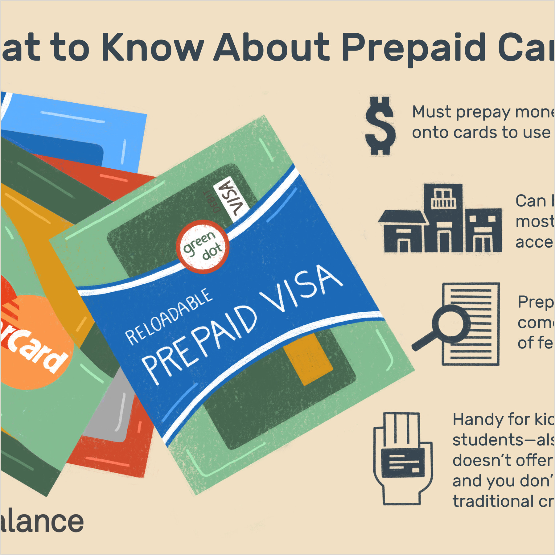 Best Business Cards Redit How Does A Prepaid Credit Card Work