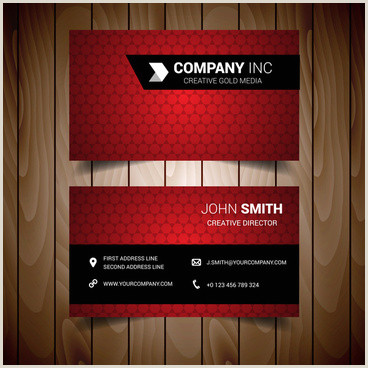 Best Business Cards Redit Red Business Cards Vector Free Vector 30 318 Free
