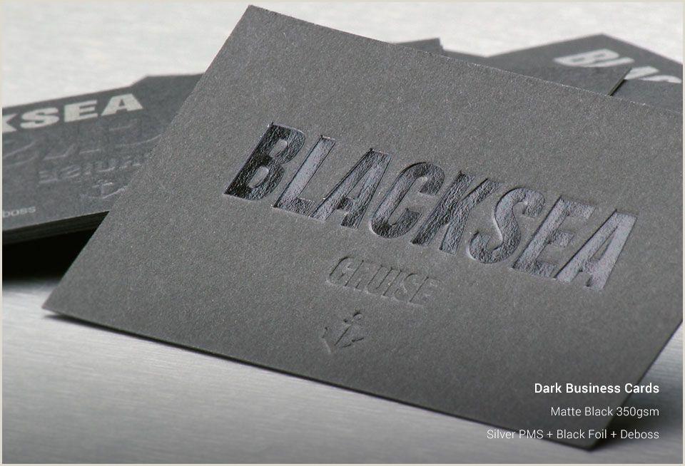 Best Business Cards Sam Day Sighking Dark Business Cards