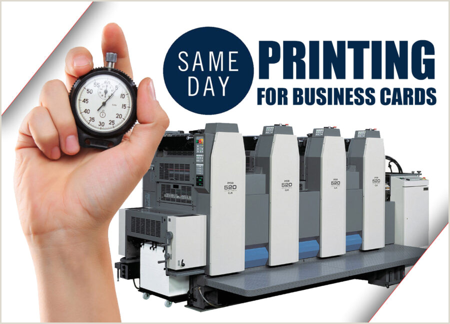 Best Business Cards Same Day Same Day Business Cards Printing For Cheap 55printing