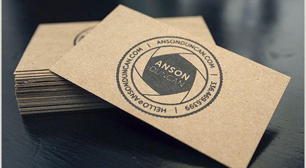 Best Business Cards Same Day Sigh King 30 Insanely Cool Stamped Business Cards – Bashooka