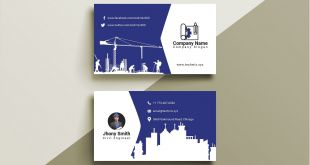 Best Business Cards Slogans Construction 10 Civil Engineer Business Cards Images