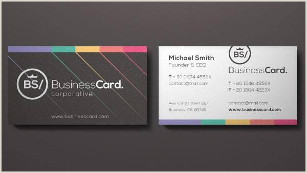 Best Business Cards To Churn 68 Corporate Business Card Templates Indesign Ai Word