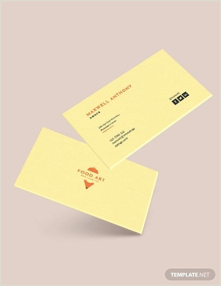 Best Business Cards To Earn Points At Restaurants 27 Creative Restaurant Business Card Templates Ai Apple