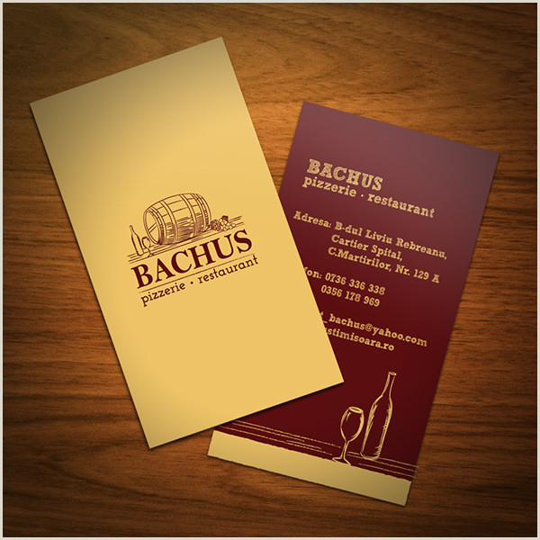 Best Business Cards To Earn Points At Restaurants Top 27 Restaurant Business Card Designs From Around The Web