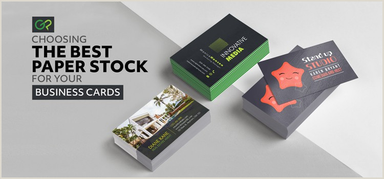 Best Business Cards Uncoated Or Matte Choosing The Best Paper Stock For Your Business Cards