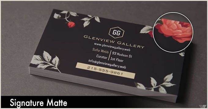 Best Business Cards Uncoated Or Matte Vistaprint Business Cards Which Paper Stock Is Best For You