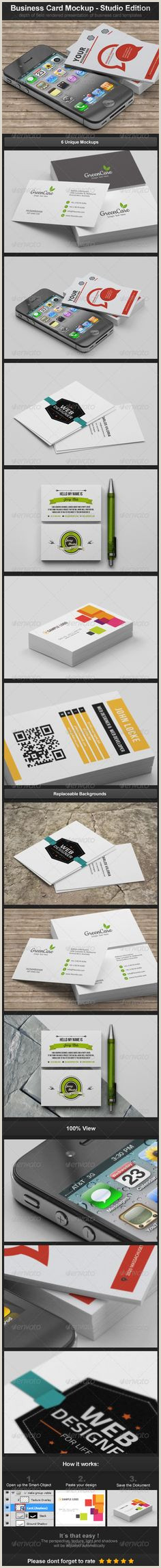 Best Business Cards Video Production 20 Business Card Mockups Images