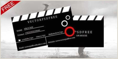 Best Business Cards Video Production 75 Best Free Business Card Templates Worth Downloading