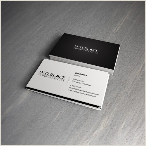 Best Business Cards Video Production New Business Card Design For Video Production Pany